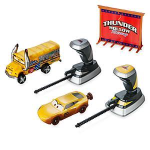 Image of Crash set da 2 pezzi Thunder Hollow Crazy 8's Demolition Disney Pixar Cars 3