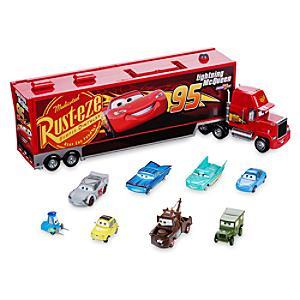 Image of Macchinina camion bisarca Disney Pixar Cars 3, Mack