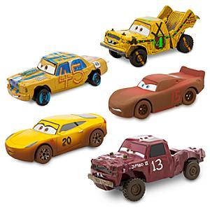 Läs mer om Disney Pixar Bilar 3 formgjutna modeller, set om 5