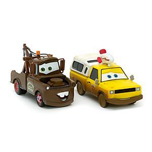 Läs mer om Bärgarn och Todd från Pizza Planet, formgjutna modeller, Disney Pixar Bilar 3