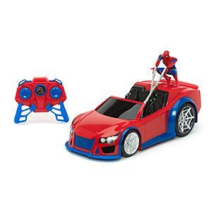 """Läs mer om Spider-Man: Homecoming """"Web Wheelie"""" fjärrstyrd bil"""