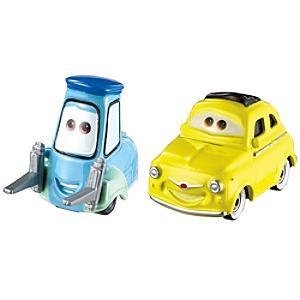 Läs mer om Luigi och Guido formgjutna figurer, Disney Pixar Bilar 3