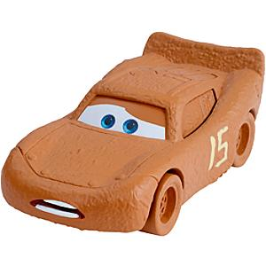 Läs mer om Blixten McQueen som Chester Whipplefilter formgjuten figur, Disney Pixar Bilar 3