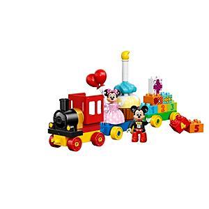 Läs mer om Musse och Mimmi Pigg födelsedagsfest Duplo-tågset
