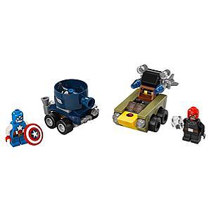 Läs mer om LEGO Mighty Micros: Captain America vs Red Skull set 76065