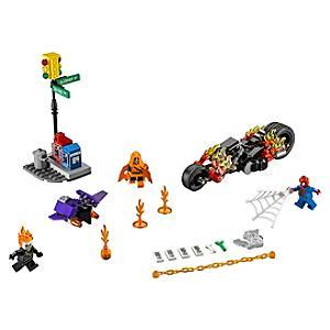 Läs mer om LEGO Spiderman Ghost Rider Fighter set 76058