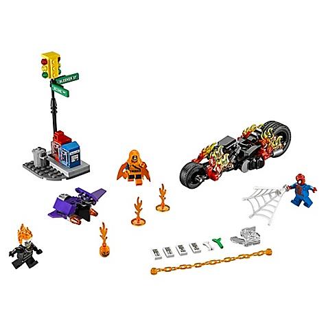 Ensemble LEGO 76058 chasseur Ghost Rider de Spider-Man, Star Wars : Le Réveil de la Force