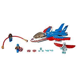 Läs mer om LEGO Captain America Jetjakt set 76076
