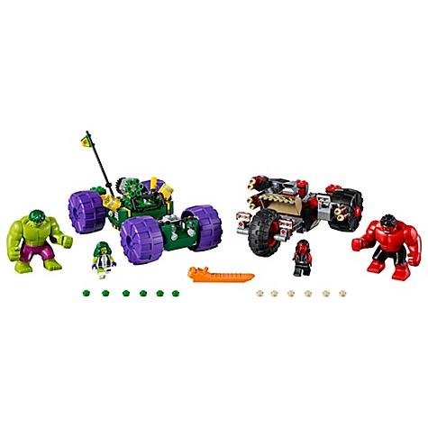 Ensemble LEGO76078Hulk vs Red Hulk