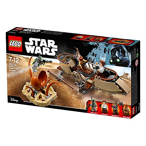 Ensemble Lego star wars75174desert skiff escape
