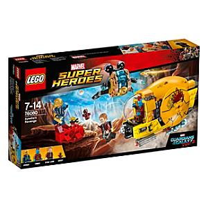 Läs mer om LEGO Guardians of the Galaxy Vol. 2 Ayeshas hämnd-set 76080