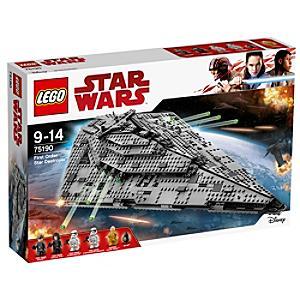 Läs mer om LEGO First Order Star Destroyer set 75190