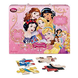 Läs mer om Disney Prinsessor 64-bitars pussel