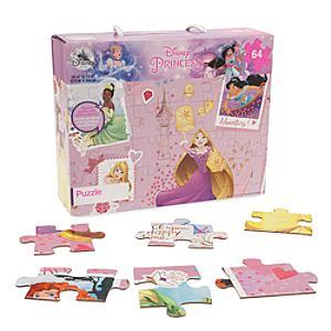 Läs mer om Disney Prinsessor pussel med 64 bitar