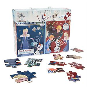 olaf-frozen-adventure-2-in-1-puzzle-set