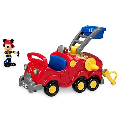 Camion de pompier mickey mouse