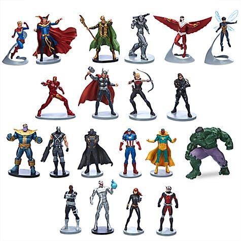 Ensemble de méga figurines Marvel Avengers