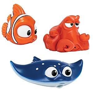 nemo-hank-mr-ray-bath-toys-finding-dory