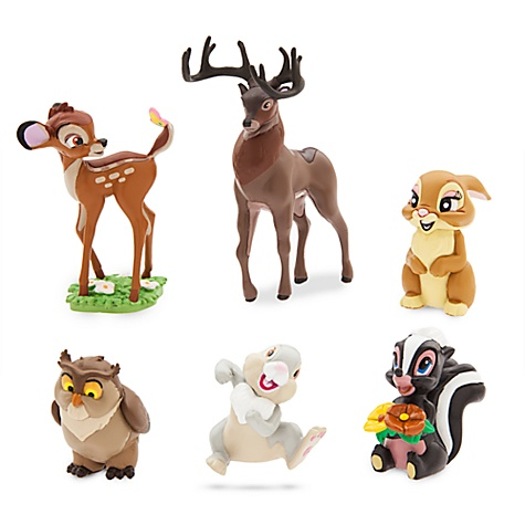 Ensemble de figurines Bambi