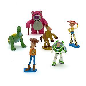 Läs mer om Toy Story set med statyetter