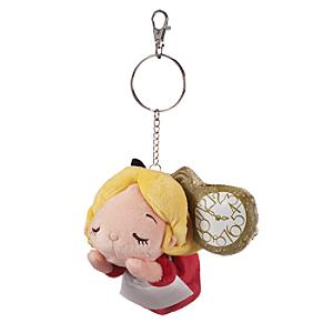 Alice in Wonderland Soft Toy Keyring