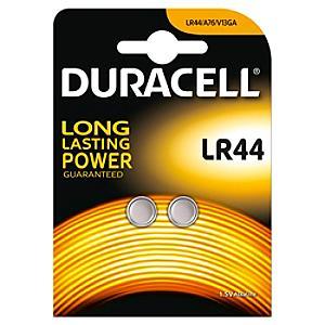 Läs mer om Duracell Specialty LR44 alkaliskt knappcellsbatteri, 2-pack