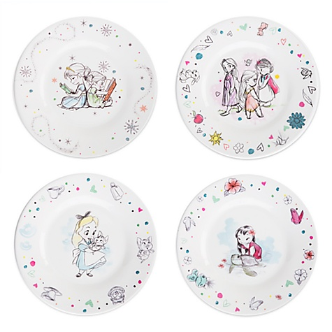 Ensemble d'assiettes Collection Disney Animators