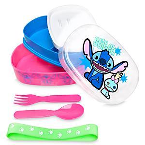 Läs mer om Stitch MXYZ matförvaringslåda med bestick