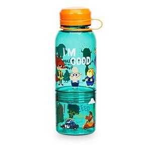 Läs mer om Zootropolis flaska med snacksbehållare