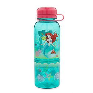 Läs mer om Den lilla sjöjungfrun flaska med snacksbehållare