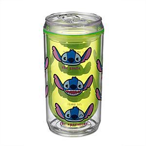 Läs mer om Stitch MXYZ läskburksformad dryckesflaska