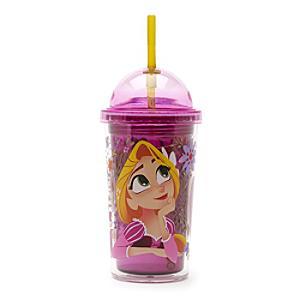 Läs mer om Rapunzel dricksglas med sugrör, Trassel