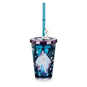 Läs mer om Frost vattenfyllt glas med sugrör