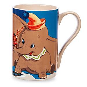 Läs mer om Dumbo och Timothy mugg med vinylomslagskonst