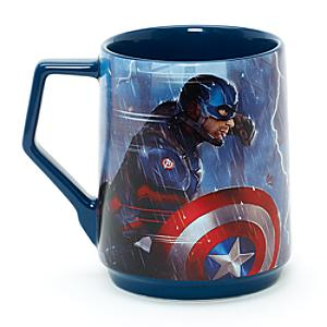 Läs mer om Captain America och Iron Man mugg