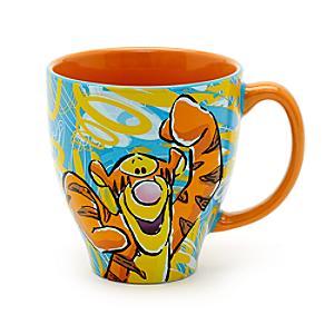Läs mer om Tiger mönstrad mugg