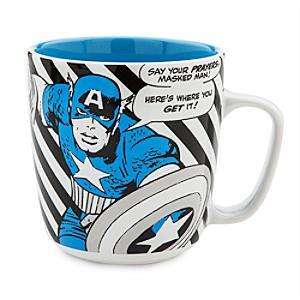 Läs mer om Captain America stor figurmugg