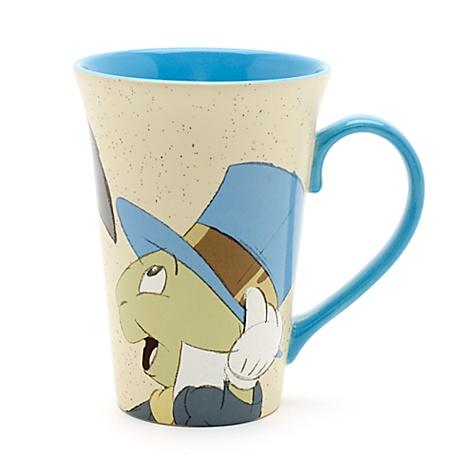 Mug Pinocchio et Jiminy Cricket pour café latte