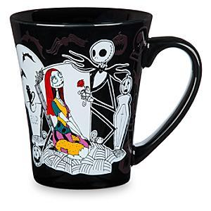 Läs mer om Jack och Sally mugg som ändrar färg, Nightmare Before Christmas