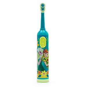 Anna and Elsa Rotary Toothbrush With Timer Frozen Fever
