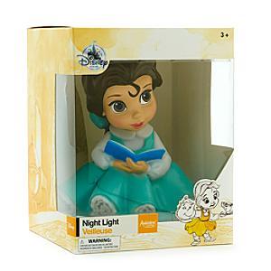 Läs mer om Belle nattlampa, Disney Animators Collection