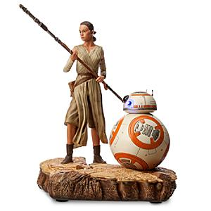 Läs mer om Rey och BB-8 statyett i begränsad upplaga, Star Wars: The Force Awakens