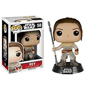 Läs mer om Star Wars: The Force Awakens Rey Pop! Funko vinylfigur
