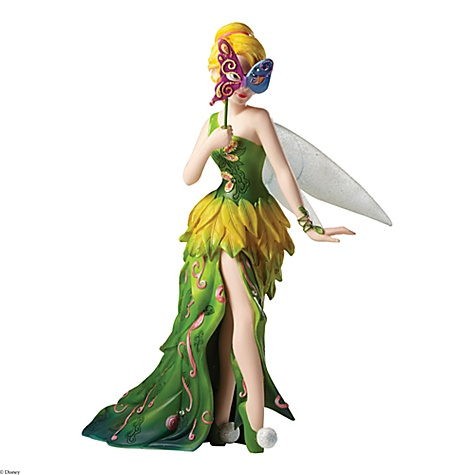 Figurine Mascarade de fée clochette disney showcase haute-Couture
