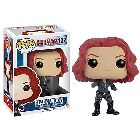 Black Widow Pop ! Figurine Funko en vinyle, Captain America : Civil War