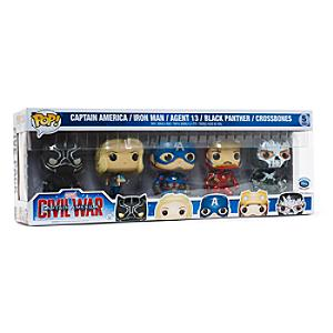 Läs mer om Captain America: Civil War Pop! Vinylfigurer från Funko, set med 5