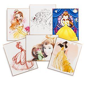 Läs mer om Art of Belle litografier i begränsad upplaga, 6 st