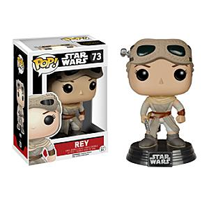 Läs mer om Rey Pop! Vinylfigur från Funko, Star Wars: The Force Awakens