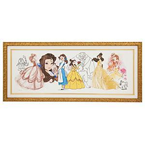 Läs mer om Art of Belle kanvastryck med ram i begränsad upplaga