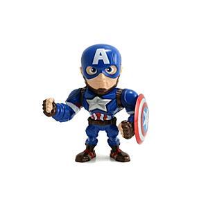 Läs mer om Captain America Metals 10 cm diecast-figur, Captain America: Civil War